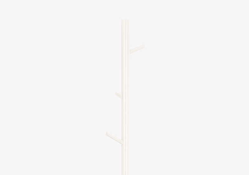 Coat Stand – White – Lacquered – EVANGELINE by MARQQA Furniture