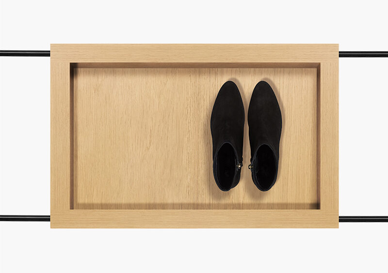 Coat Stand – Wood – Black – RACHEL by MARQQA Furniture