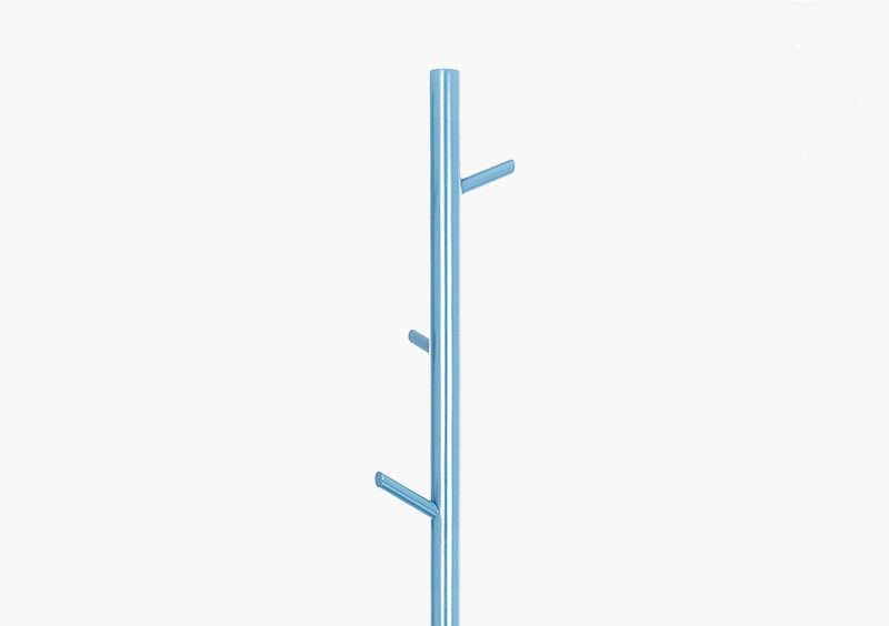 Coat Stand – Lacquered – Blue – White – STEVEN by MARQQA Furniture
