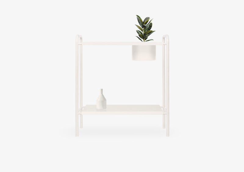 Console Table – White – Lacquered – ABEL by MARQQA Furniture