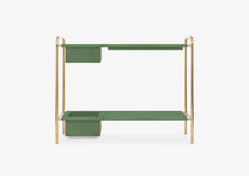 Console Table – Gold – Lacquered – ABRAHAM by MARQQA Furniture