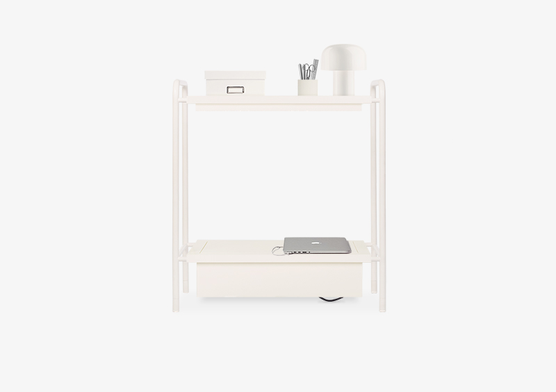 Console Table – White – Lacquered – AIDA by MARQQA Furniture