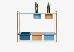 Console Table – Wood – Lacquered – Gold – BENJAMIN by MARQQA Furniture