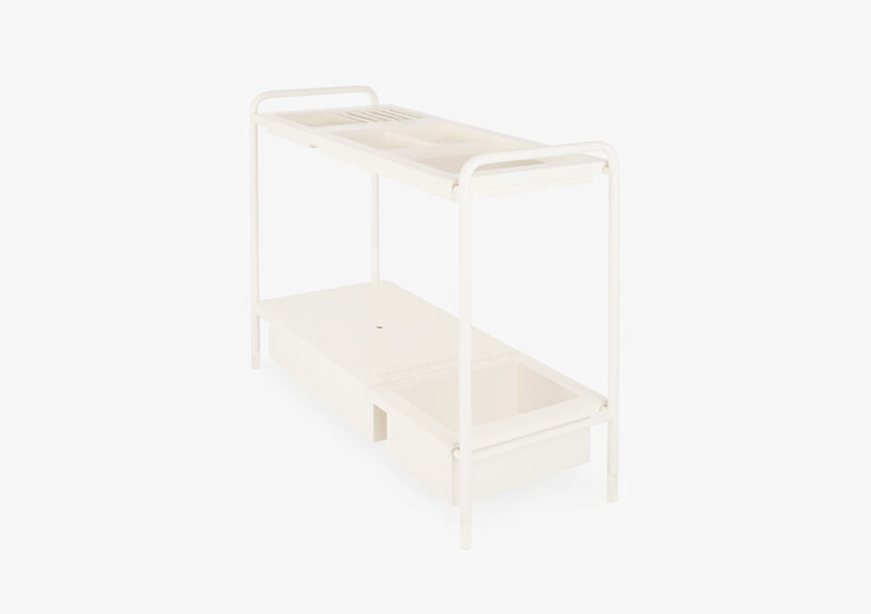 Console Table – White – Lacquered – FREDERICA by MARQQA Furniture