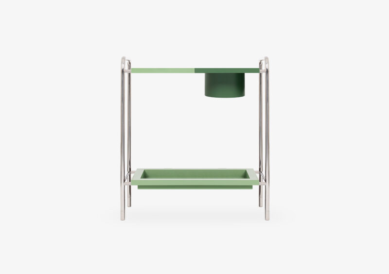 Console Table – Silver– Lacquered – JULIET by MARQQA Furniture