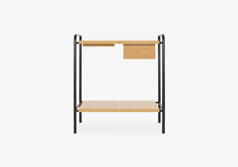 Console Table – Wood – Black – NOAH by MARQQA Furniture