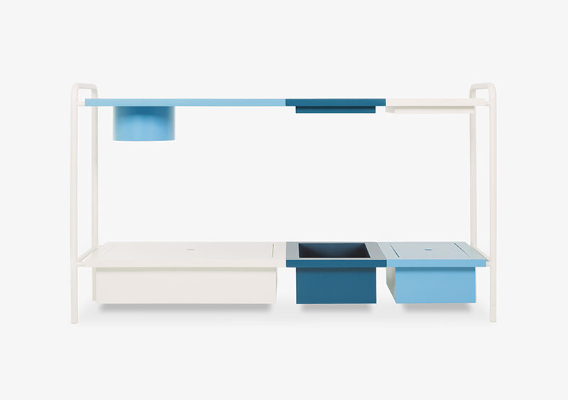 Console Table – White – Lacquered – OLIVER by MARQQA Furniture