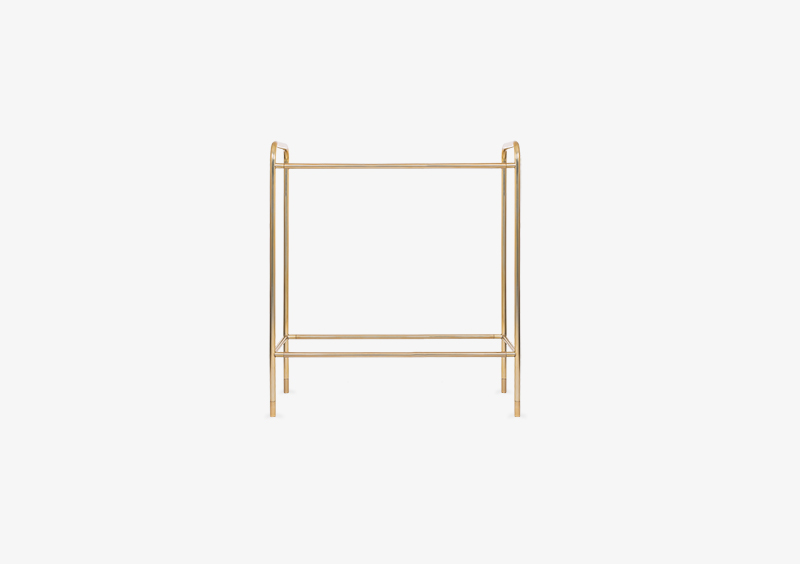 Console Table Structure – Metal – Gold – MARQQA Furniture