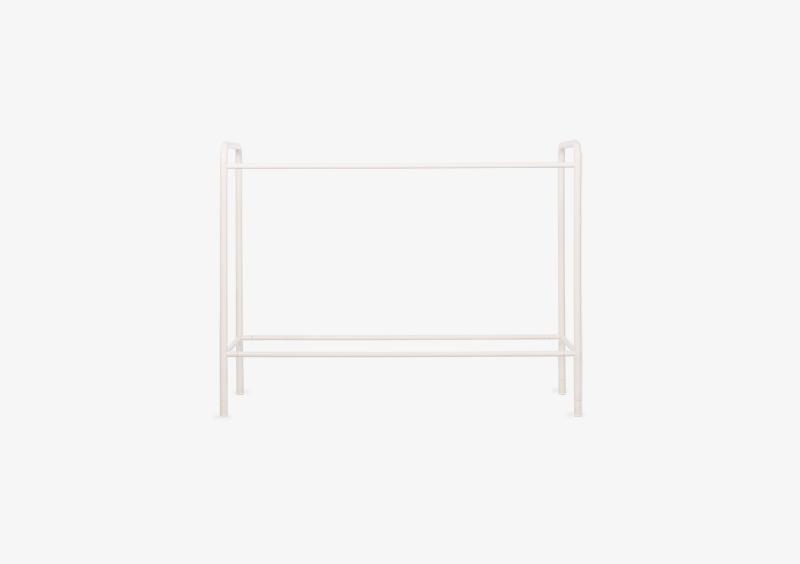 Console Table Structure – Metal – White – MARQQA Furniture