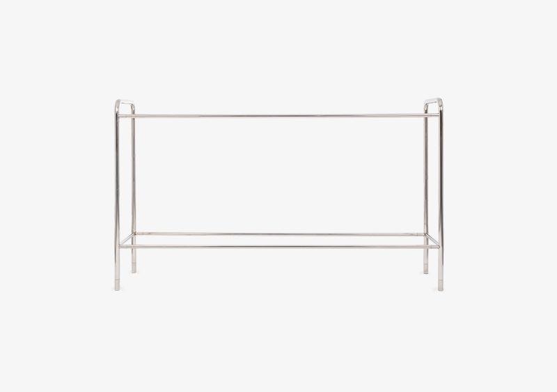 Console Table Structure – Metal – Silver – MARQQA Furniture