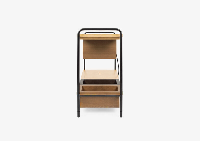 Console Table – Wood – Black – THEODORE by MARQQA Furniture