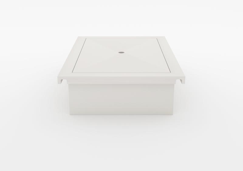 Laptop Box – Lacquered – White – MARQQA Furniture