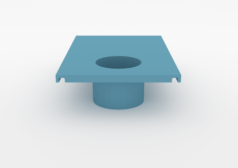 Large Pot – Lacquered – Light Blue – MARQQA Furniture