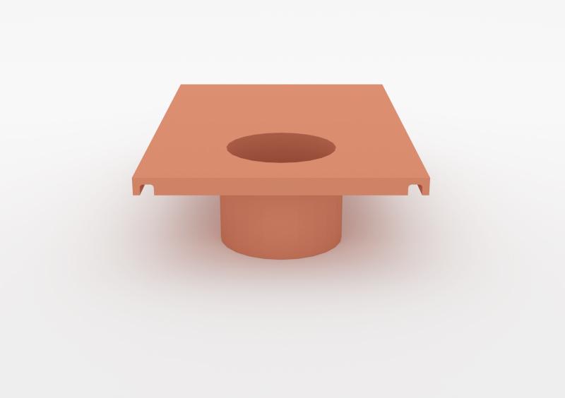 Large Pot – Lacquered – Rose – MARQQA Furniture