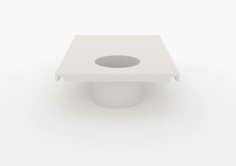 Large Pot – Lacquered – White – MARQQA Furniture