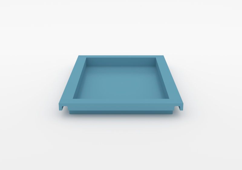 Large Tray – Lacquered – Light Blue – MARQQA Furniture