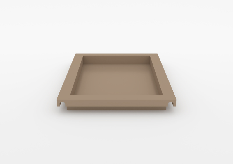 Large Tray – Lacquered – Taupe – MARQQA Furniture