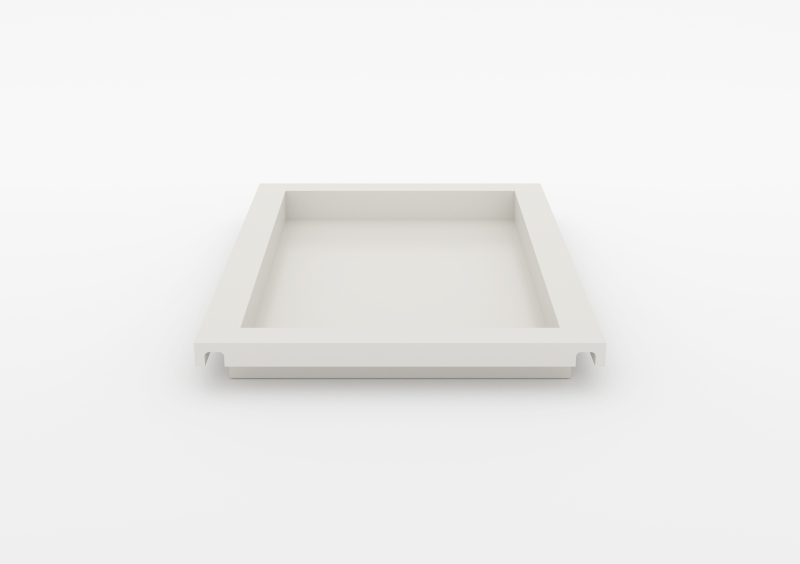 Large Tray – Lacquered – White – MARQQA Furniture