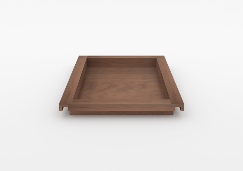 Large Tray – Wood – Brown – MARQQA Furniture