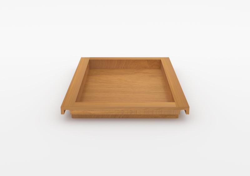 Large Tray – Wood – Natural – MARQQA Furniture
