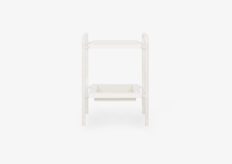 Side Table – Lacquered – White – KATE by MARQQA Furniture