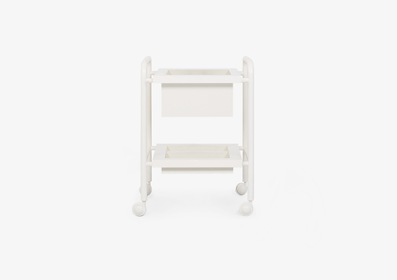 Side Table – Lacquered – White – LISA by MARQQA Furniture