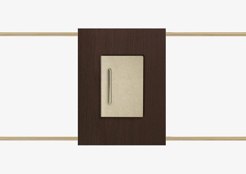 Side Table – Wood – Gold – SEBASTIAN by MARQQA Furniture