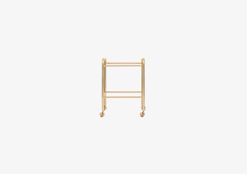 Side Table Structure – Metal – Gold – MARQQA Furniture