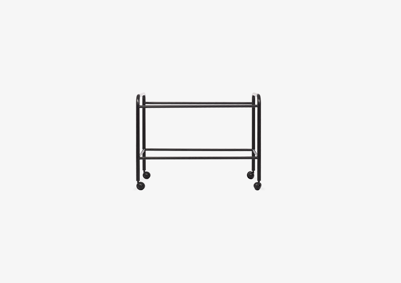 Side Table Structure – Metal – Black – MARQQA Furniture