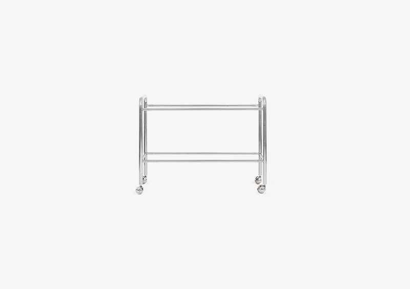 Side Table Structure – Metal – Silver – MARQQA Furniture