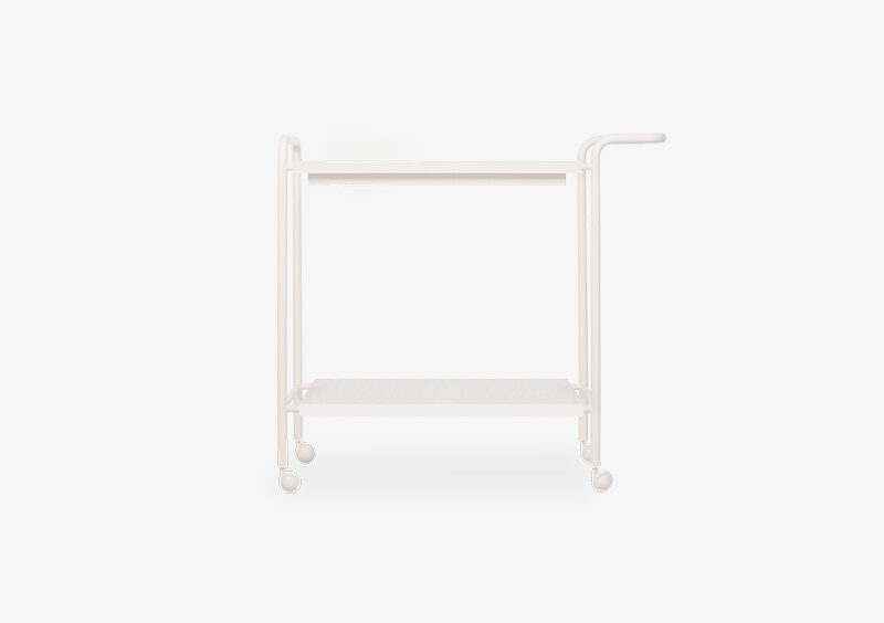 Tea Trolley – Lacquered – White – GRACE by MARQQA Furniture