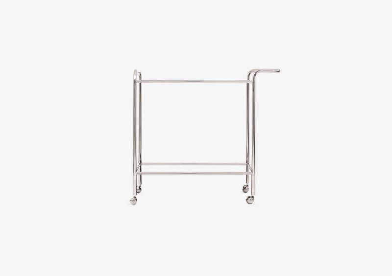 Tea Trolley Structure – Metal – Silver – MARQQA Furniture
