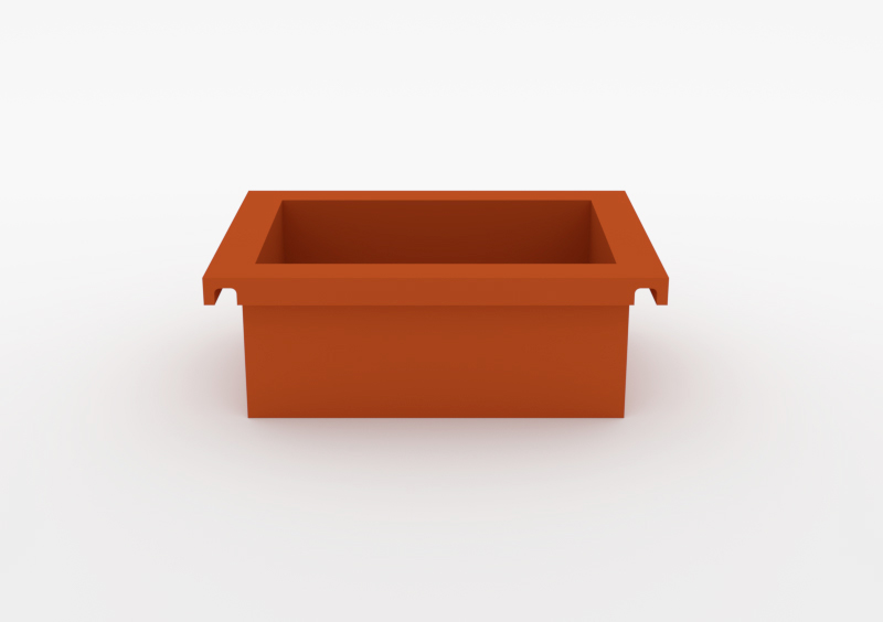 Box – Lacquered – Brick – MARQQA Furniture