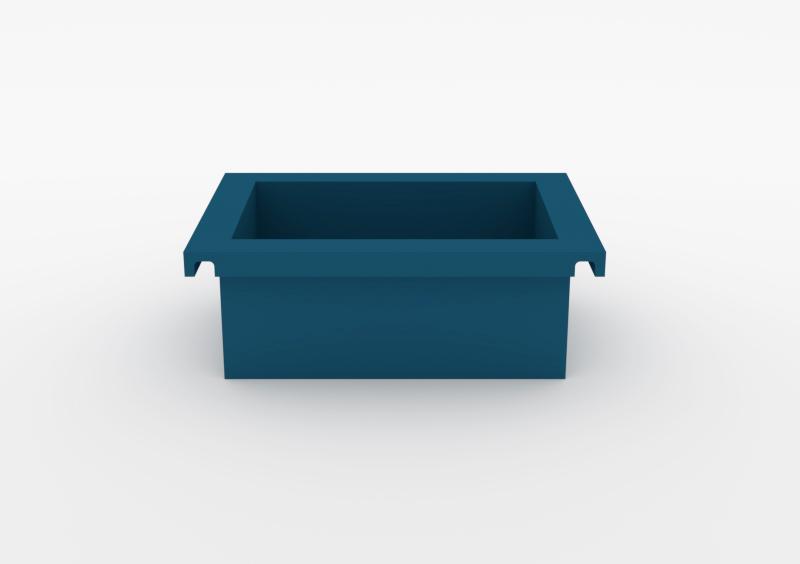 Box – Lacquered – Dark Blue – MARQQA Furniture