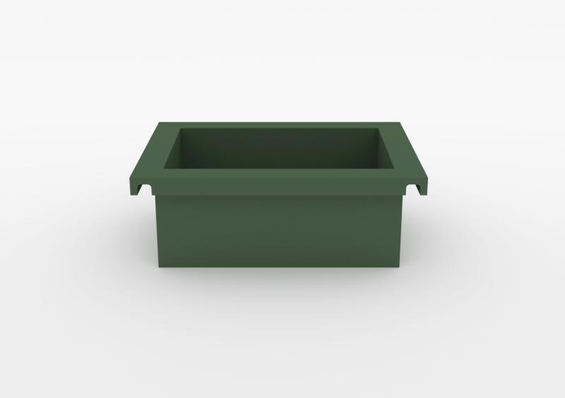 Box – Lacquered – Dark Green – MARQQA Furniture