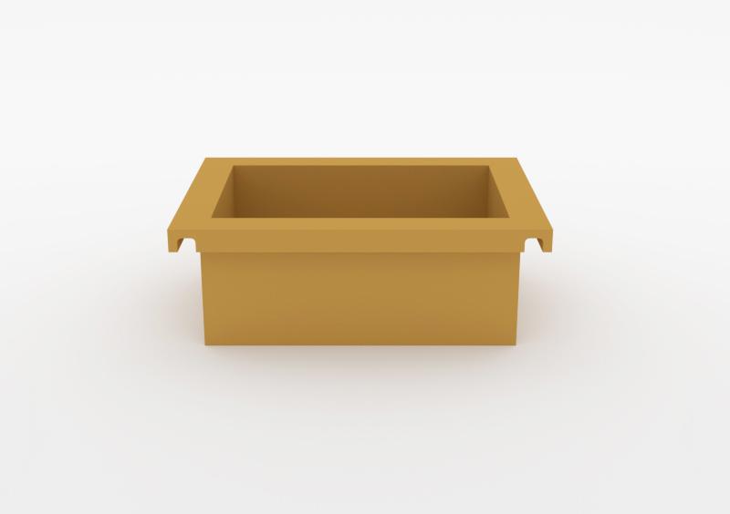 Box – Lacquered – Mustard – MARQQA Furniture