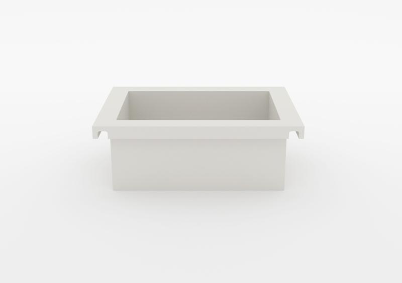 Box – Lacquered – White – MARQQA Furniture