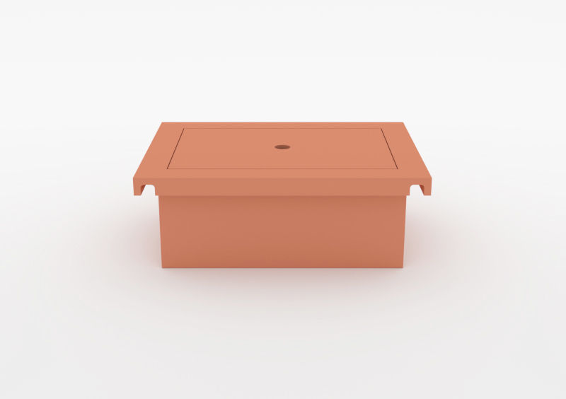 Box With Lid – Lacquered – Rose – MARQQA Furniture