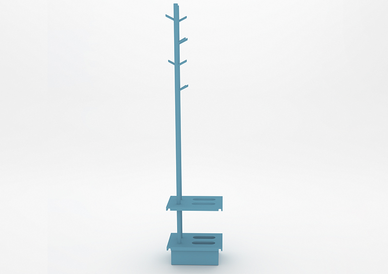 Coat Stand – Lacquered – Light Blue – MARQQA Furniture