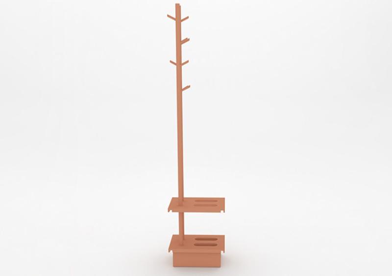Coat Stand – Lacquered – Rose – MARQQA Furniture