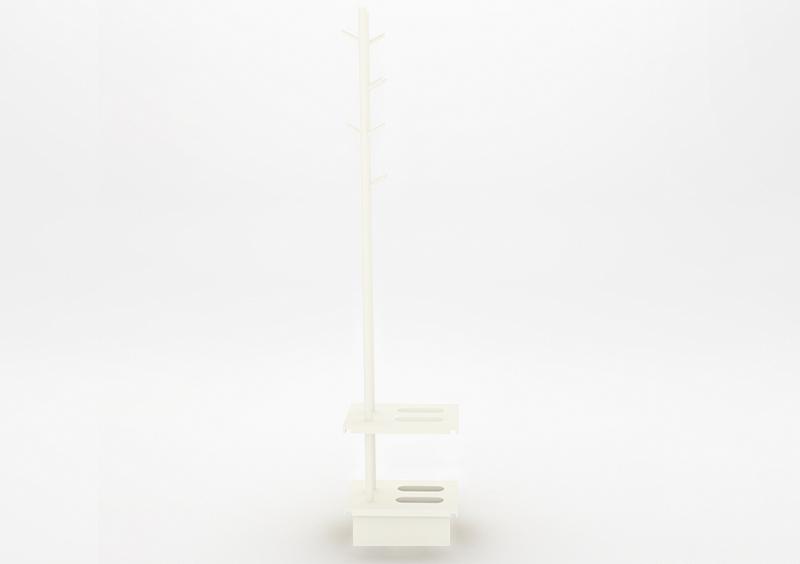 Coat Stand – Lacquered – White – MARQQA Furniture