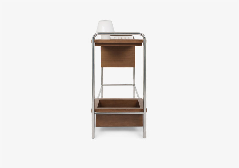 Console Table – Wood – Silver – ANTONIA by MARQQA Furniture