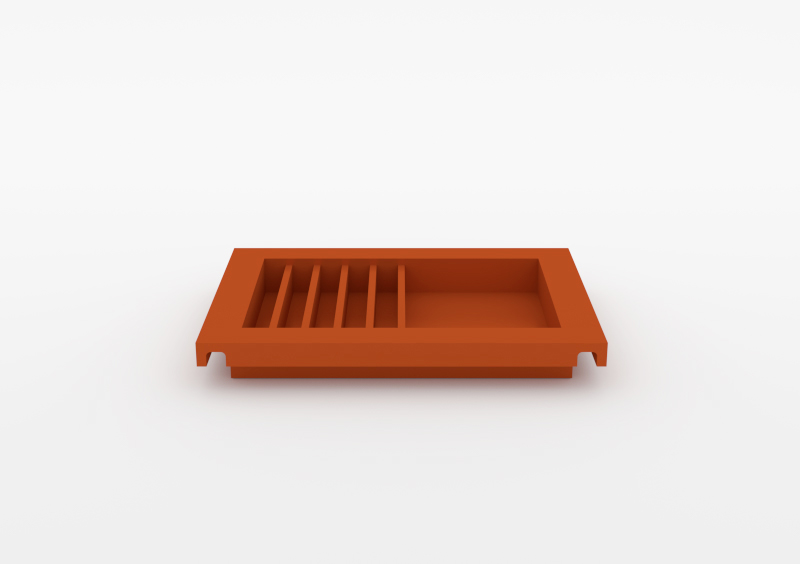 Envelope Tray – Lacquered – Brick – MARQQA Furniture
