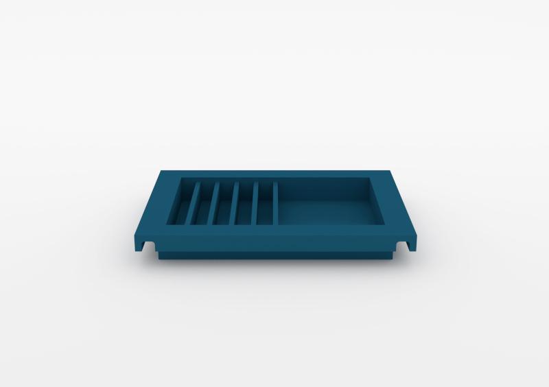 Envelope Tray – Lacquered – Dark Blue – MARQQA Furniture
