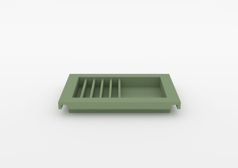 Envelope Tray – Lacquered – Light Green – MARQQA Furniture