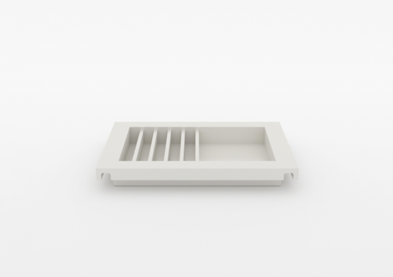 Envelope Tray – Lacquered – White – MARQQA Furniture