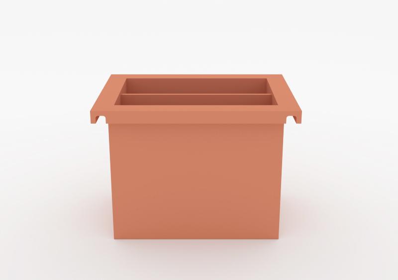 Magazine Box – Lacquered – Rose – MARQQA Furniture