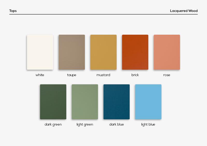 Sample Box – Lacquer – MARQQA Furniture