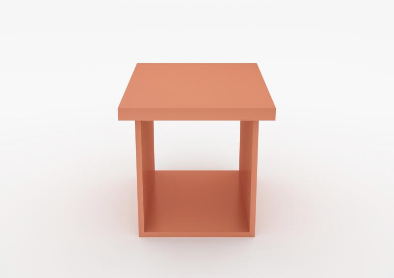 Shelf – Lacquered – Rose – MARQQA Furniture