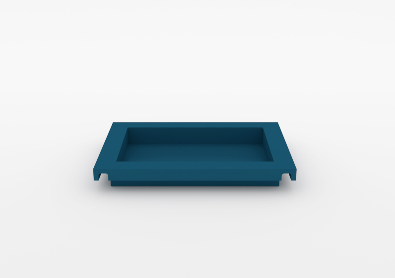 Small Tray – Lacquered – Dark Blue – MARQQA Furniture